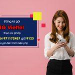 đăng ký gói 4G Viettel